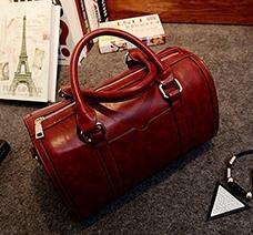 Túi xách trống da trơn thời trang