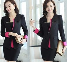 Áo khoác vest phối viền xinh xắn