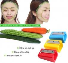 Bộ 2 dụng cụ cắt gọt dưa đắp mặt nạ tiện lợi