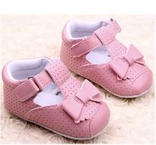 Giày Tập Đi Bé Gái 6-15 tháng tuổi