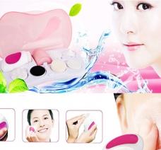 Máy Massage Rửa Mặt 7 Trong 1 Facial Cleanser