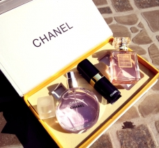Set 2 Chai Nước Hoa Chanel + Son Môi