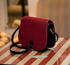 Túi xách đeo chéo da phối lộn thời trang