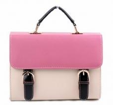 Túi xách phối màu hình hộp