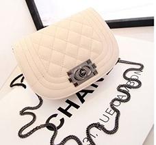 Túi xách mini kiểu dáng Chanel tròn