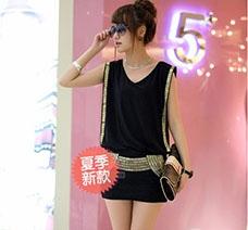 Đầm Đính Kim Sa cho bạn gái thêm thon gọn, quyến rũ