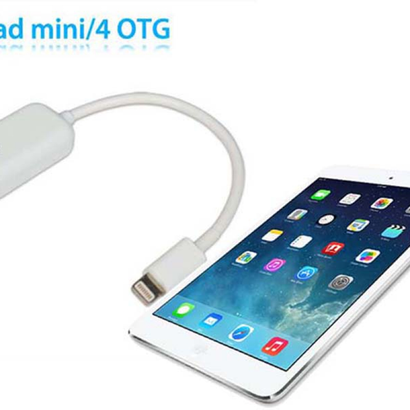 Cáp Lightning USB OTG Cho iPad 4, iPad Mini, iPhone 5