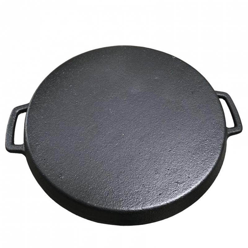 Chảo gang chiên bánh xèo 22cm chống dính Vạn Lợi