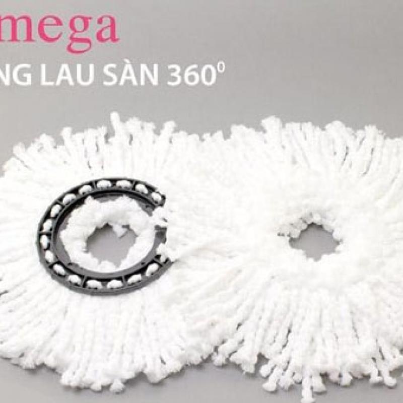 Combo 2 Bông Lau Sàn Độ Omega Mop 360