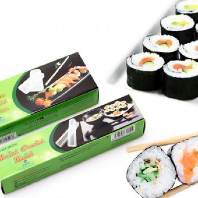 Combo 2 Khuôn Sushi Dạng Cuộn Và Nắm