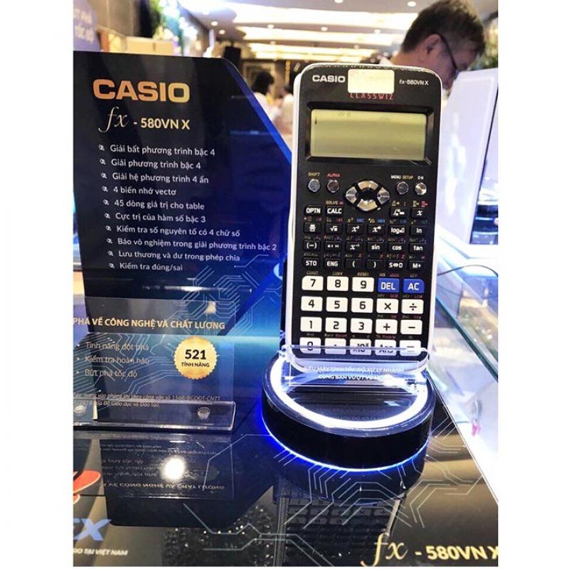 Máy tính CASIO FX 580VNX Chính Hãng