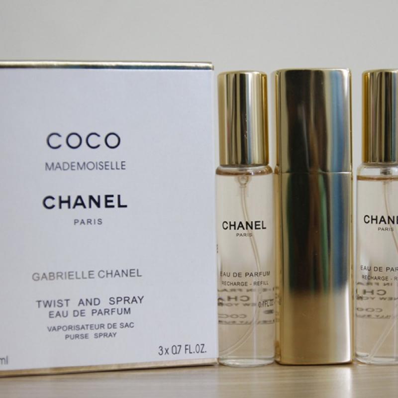 Nước hoa nữ Chanel Coco Bộ 03 Cây
