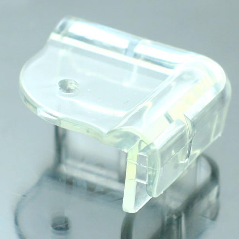 Nhựa dẻo bọc góc bàn bảo vệ an toàn cho bé 8 miếng