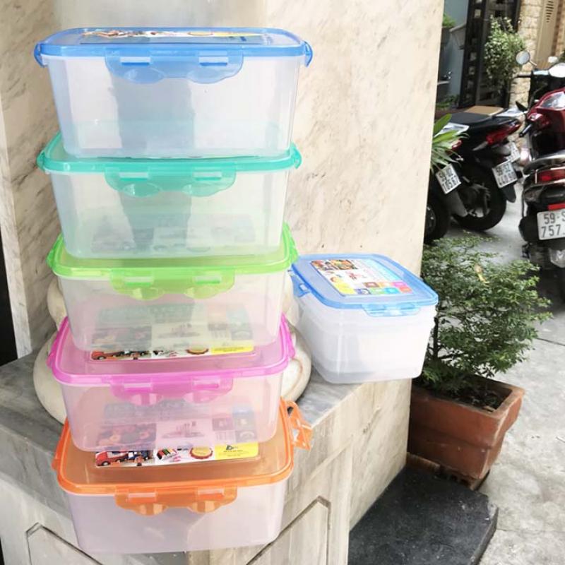 Set 4 Hộp bảo quản Mát rau củ Tashing 3L2 cao cấp