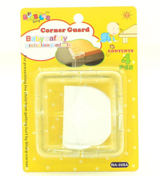 Nhựa dẻo bọc góc bàn bảo vệ an toàn cho bé 8 miếng giá rẻ