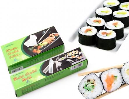 123mua Combo 2 Khuôn Sushi Dạng Cuộn Và Nắm
