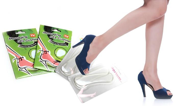 Bộ 8 Miếng Lót Giày Silicon Cho Dáng Đi Mềm Mại giá rẻ