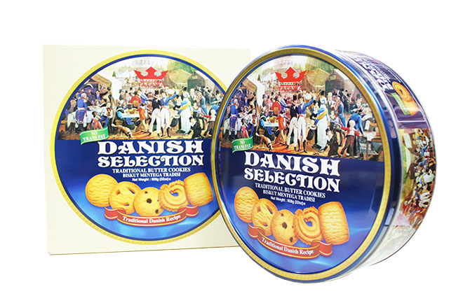 123mua Bánh Danish Selection Malaysia 908gr - Quà Tặng Ý Nghĩa