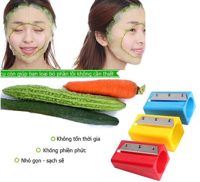 Bộ 2 dụng cụ cắt gọt dưa đắp mặt nạ tiện lợi giá rẻ
