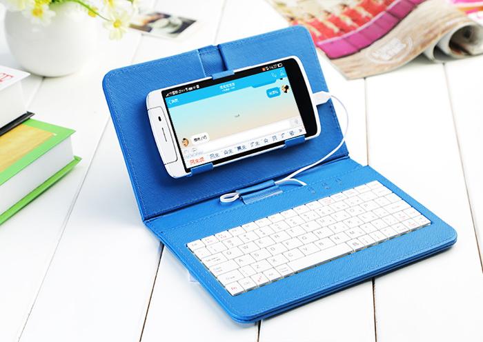 123mua Bao Da Kèm Bàn Phím Cho Smartphone Android