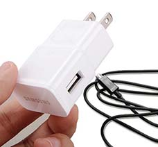 Cóc Adapter Sạc Cổng USB Cho Samsung, Điện Thoại, HTC, LG... giá rẻ