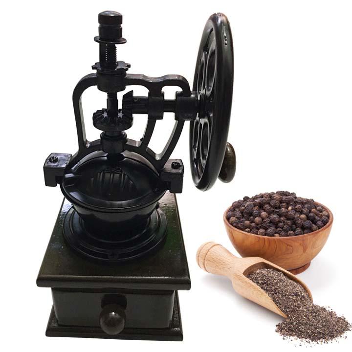 Cối xay tiêu, cafe, đậu gỗ có trục quay độc đáo giá rẻ
