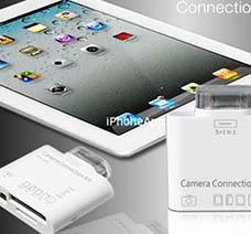 Đầu Đọc Thẻ Nhớ Và Cổng USB Cho iPAD giá rẻ