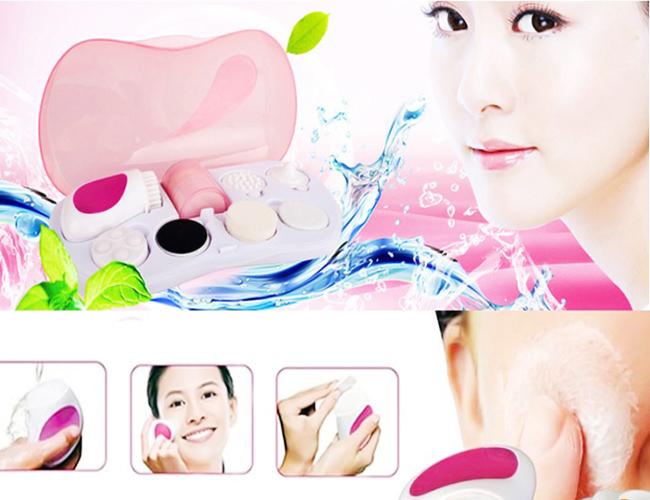 123mua Máy Massage Rửa Mặt 7 Trong 1 Facial Cleanser