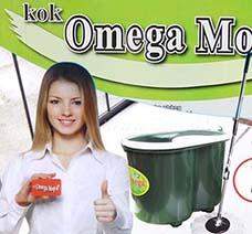 Bộ Lau Nhà Omega Mop Xô Xanh Có Đế Giặt Bông Thông Minh giá rẻ