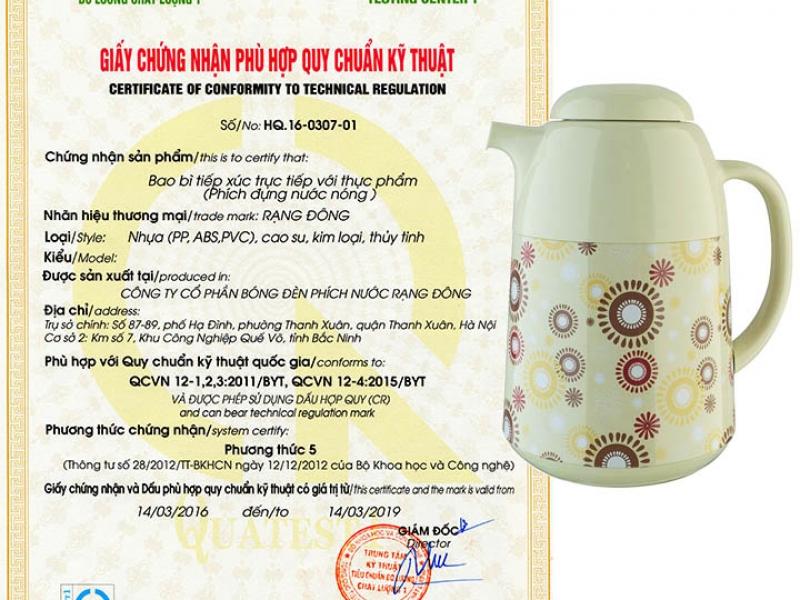 Phích đựng nước Rạng Đông 1L-RD1045 TS.E giá rẻ