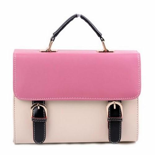 Túi xách phối màu hình hộp giá rẻ