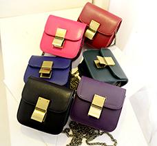 Túi xách mini khóa kẹp nhỏ gọn, xinh xắn giá rẻ